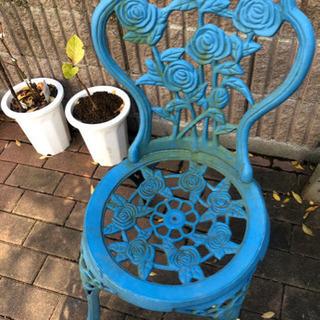 ガーデンチェア 2脚