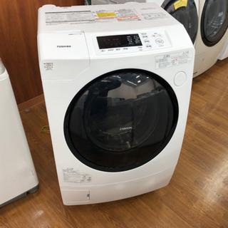 1年保証付き!TOSHIBA ドラム式洗濯機