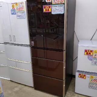 HITACHI 日立 555L冷蔵庫 2017年式 R-WX5600G(ZT) 1130-01の画像