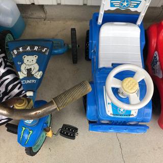 乗用玩具 三輪車