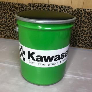 特注品 カワサキ風ペール缶チェアー