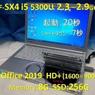 Let's note CF-SX4 i5 2.3~2.9G SS...