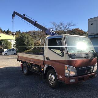 【ネット決済】三菱キャンタークレーン車!タダノ4段2トン吊り#ユ...