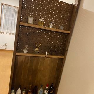 DIY 飾り棚 仕切り 突っ張り式