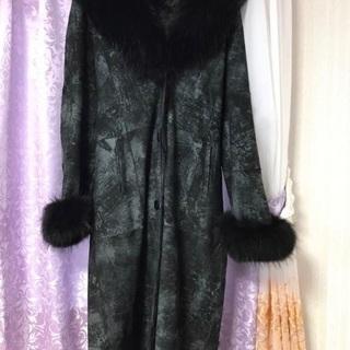 【ネット決済・配送可】大きいサイズ毛皮コート売ります!