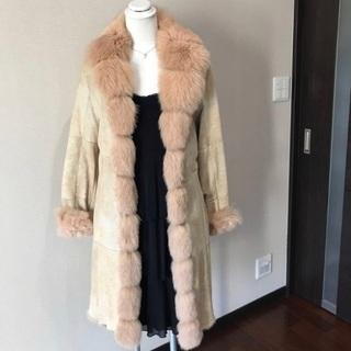 【ネット決済・配送可】着用しやすい毛皮コート売ります‼︎