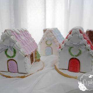 クリスマスにピッタリの、アイシングクッキーのおうち「ヘクセンハウ...