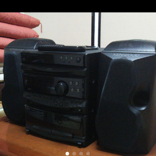 KENWOOD COMPACT DISC STEREO SYSTEM