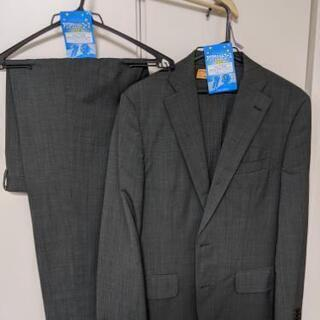 THE SUITS COMPANY スーツ カーキ色