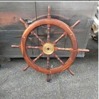 船 ハンドル 14