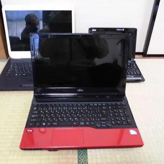ノートパソコン 3台 さしあげます、0円