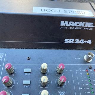 【値下げしました】Mackie SR24-4 ケース付 - 楽器
