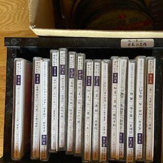 日本名作小説の朗読CDなど