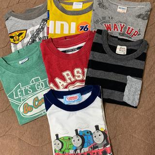 男児120 長袖Tシャツ 7枚