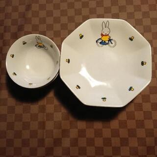 ミッフィー  炒飯皿とスープ皿セット
