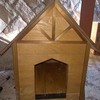 【ネット決済】中古 犬小屋 木製