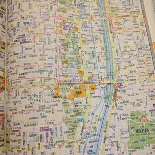 スーパーマップル関西道路地図 2012年4版16刷 関西広…