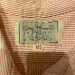 ラルフローレンのピンクのシャツ