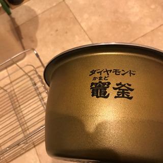 【値下げ】Panasonic Wおどり炊き 5.5合用炊飯器のダ...