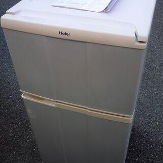 ☆ハイアール Haier JR-N100A 98L 2ドア冷凍冷...