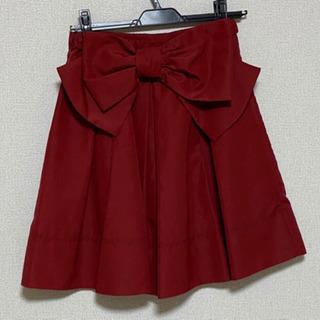 【美品】ウィルセレクション リボンスカート
