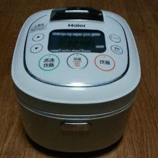 ハイアール HAIER JJ-M55Aマイコン炊飯器 5.5合炊きの画像