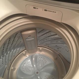 値下げ【長期保証有】2018年製 ハイセンス/Hisense 全自動洗濯機 5.5kg HW-T55C − 茨城県