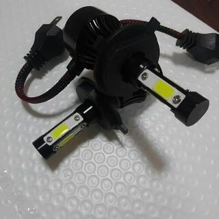 四面LEDヘッドライトH4ハイロウ切り替え⑪ - 沖縄市
