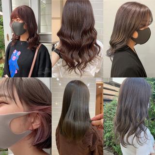 ☆髪の施術希望の方を募集します☆カット╱カラー╱トリートメ…