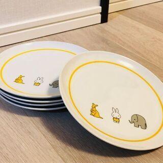ミッフィーお皿(黄)3枚セット 新品