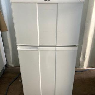 【重】1020-5 Haier 98L 2ドア冷蔵庫 2012年...