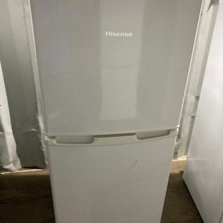 【重】1020-12 106L ハイセンス 2ドア冷蔵庫 201...