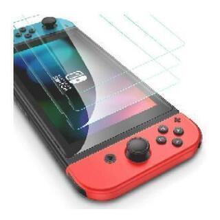 Nintendo Switch用 保護 ガラスフィルム 撥水撥油...