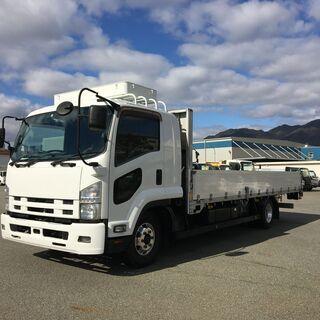 荷L6200 ワイド 積載3.3t リアエアサス 240馬力 寝台付