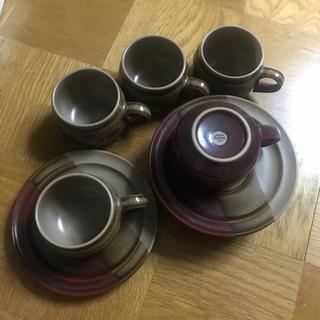Noritake Fairmontのカップ&ソーサー 5個セット