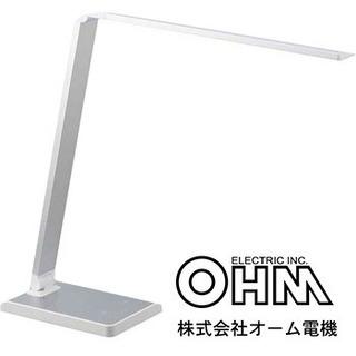 新品!75%OFF 調色 調光 LED デスクライト オーム電機...