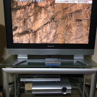 Panasonic プラズマテレビ37型&テレビ台