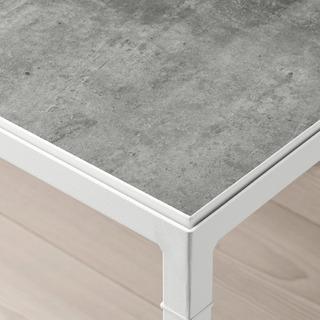IKEA NYBODA リバーシブルテーブル ホワイト - 家具