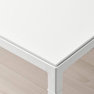 IKEA NYBODA リバーシブルテーブル ホワイト − 岡山県