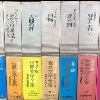【ネット決済】河出書房/河出書房新社 カラー版 世界文学全集