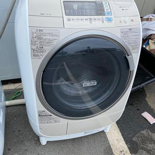 日立ドラム式洗濯機 洗濯9/乾燥6 中古 リサイクルショップ宮崎...