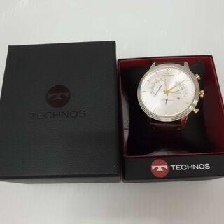 【引取限定】テクノス 腕時計 未使用品 T9597SS T…
