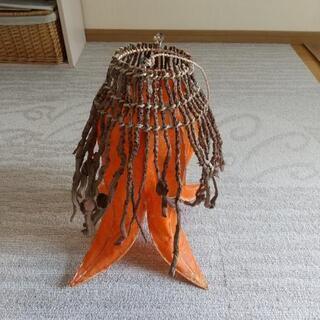 照明 カバー 傘 アジアン