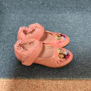 ピカピカサンダルとアナとエルサプリンセス風の靴 お得です
