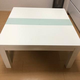 【ネット決済】こたつテーブル レシオ ホワイト