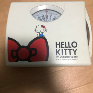 ※値下げしました。可愛い体重計 Kitty