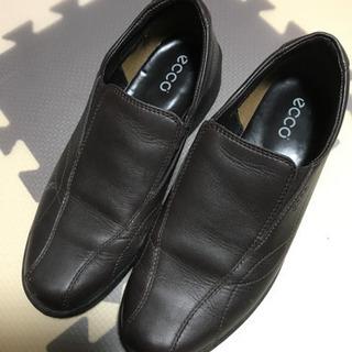 ecco 革靴 24.5cm