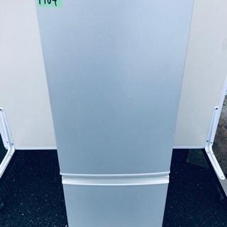 1764番 シャープ✨ノンフロン冷凍冷蔵庫✨SJ-17S-W‼️