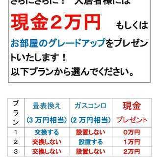 アエル高岡203号 1DK【2.9万円】エアコン新品プレゼント!...