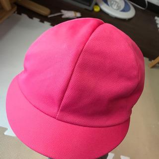 若竹幼稚園のピンク帽子